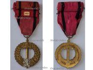 Czechoslovakia WW2 Czechoslovak Army Abroad Military Medal bar USSR Soviet Union Russia WWII 1939 1945 Czech Decoration