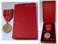 Czechoslovakia Homeland Service Military Medal 1960 Czech Decoration Award Boxed