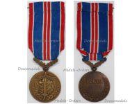 Czechoslovakia WW2 Bravery Medal 1939 1945
