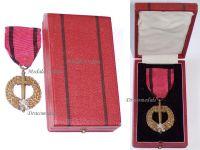 Czechoslovakia WW2 Czechoslovak Army Abroad Medal 1939 1945 Boxed