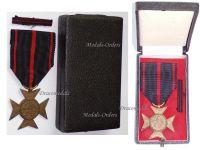 Czechoslovakia WWII Cross Liberated Political Prisoners 1939 1945 Military Medal WW2 Czechoslovakian Czech Decoration Boxed