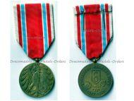 Czechoslovakia 6th Hana Rifle Regiment Commemorative Medal 30th Anniversary 1917 1947 by J. Mayer