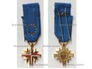 France EU Cross of the European Confederation of Former Veterans by LR Paris MINI