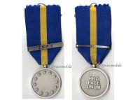 EU European Union Security Defense Policy Service Military Medal clasp EUPM Bosnia Herzegovina Police Civil