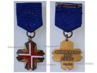 Germany EU Cross European Confederation Former WW2 Veterans Military Medal Decoration German Award by Deumer