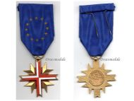 France EU Cross European Confederation Former WW2 Veterans Military Medal Decoration French Award