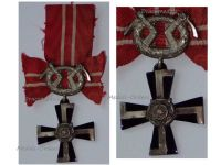 Finland WW2 Order Cross Liberty  Swords IV Class 1939 Military Medal Winter War Finnish Decoration Award WWII