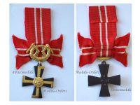 Finland WW2 Order Cross Liberty Swords III Class 1941 Continuation War Finnish Decoration Award WWII 1944