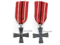 Finland WW2 Lynx Tavastian Division Cross Military Medal Continuation War 1941 1944 WWII Finnish Decoration
