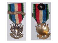 France Franco Prussian War 1870 1871 Veterans Medal Oublier Jamais with Bar 1870-1871