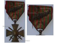 France WW1 Medal War Cross Croix Guerre 1914 1917 Palms Bronze Star Decoration French WWI 1918 Great War