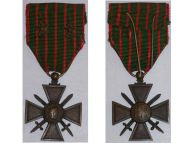 France WW1 Medal War Cross Croix Guerre 1914 1915 bronze stars Decoration French WWI 1918 Great War