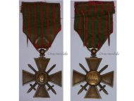France WW1 Medal War Cross Croix Guerre 1914 1916 Decoration French WWI 1918 Great War