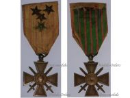 France WW1 Medal War Cross Croix Guerre 1914 1917 with 4 stars Decoration French WWI 1918 Great War