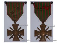 France WW1 Medal War Cross Croix Guerre 1914 1917 with 2 stars Officer's Bar Decoration French WWI 1918 Great War