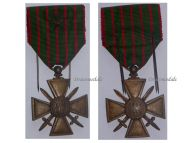 France WW1 Medal War Cross Croix Guerre 1914 1918 citation Decoration French WWI Great War