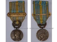 France WWI Macedonian Front Medal Army of the East Salonica Campaign 1916 1918 with Clasp Orient