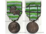 France 2nd Madagascar Campaign Medal with Clasp 1895 by Roly 1st Type