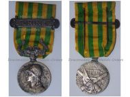 France Boxer Rebellion Medal for the Expedition in China with Clasp Chine 1900 1901