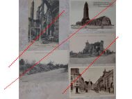 France WW1 5 Field Post Postcards Verdun Fort Memorial Douaumont Soissons French Photo 1914 1918 Great War WWI