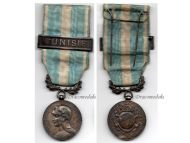 France WW1 Colonial Military Medal 1st version 1893 1913 bar Tunisia snap type Decoration Mercier Lemaire