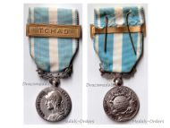 France Overseas Military Medal bar Chad Colonial Wars French Decoration Award 5th Republic
