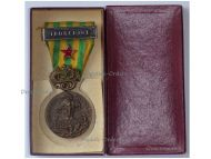 France Indochina War Military Medal Bar Combat Wound Red Star Dien Bien Phu Battle 1945 1953 Decoration French Paris Mint Boxed