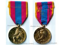 France National Defense Medal 1982 Gold Class