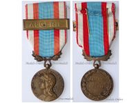 France North Africa Medal for Security and Order Operations with Clasp Algeria 1st Type