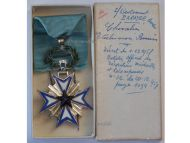 France Dahomey Order Black Star Benin Knight's Cross to Lieutenant 1958 Boxed