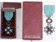 France Dahomey WW1 Order Black Star Benin Knight's Cross Boxed