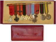 Belgium France WW2 Officer Order Legion Honor War Cross Resistance Military Medals set Belgian French MINI