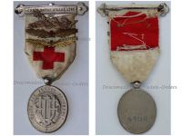 France WW1 Red Cross Medal Union French Women UFF with Bronze Nurse Palms and Gold & Bronze Red Cross Palms 1914 1918 Numbered