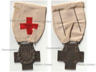 France WW1 Red Cross Medal French Association Aid Wounded SBM 1914 1918