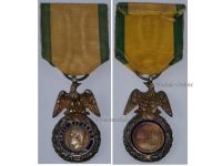 France Military Medal Valor Discipline Emperor Louis Napoleon 2nd Type 1852 1870 by Barre