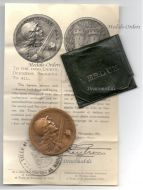 France WW1 Verdun medal 1916 on ne passe pas 1914 1918 Vernier Decoration Diploma Great War Award