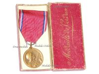 France WW1 Verdun Medal 1916 by Vernier without Maker's Mark Boxed