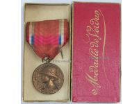 France WW1 Verdun Medal 1916 Prudhomme Type Boxed