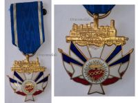 France WW1 Association Railway Christians Railroad Medal French Civil Decoration 1919
