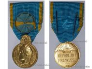 France Medal Honor Youth Sports Associative Engagements Officer 1969 French Decoration Silver Gilt Paris Mint