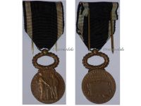 France WW1 Mutual Security Assurance Civil Medal 1900 WWI French Decoration Award Republic Great War Roty