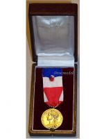 France Trade Labor Gold Medal Civil 1978 Decoration French Award 30 years service 5th Republic boxed