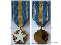 France WW1 WW2 Wound Military Medal Civil Personnel White Star French Badge Wounded Decoration