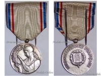 France WW1 National Recognition Gratitude Civil Medal Silver WWI 1914 1918 French Decoration Great War Service