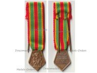 France Medal of the French National Federation of Volunteer Combatants FNCV Bronze Class MINI
