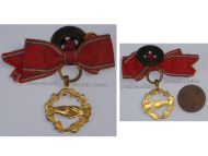 France WW1 Verdun Combatants Mutuality Badge Military Medal 1916 WWI 1914 1918 French Decoration Great War