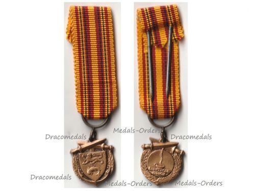 France WW2 Dunkirk Evacuation Veterans Medal 1940 MINI