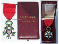 France WW1 Order Legion Honor 1870 Knight's Cross French Military Medal Decoration WWI 1914 1918 boxed Lux