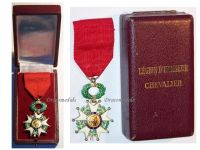 France WW2 Order Legion Honor Knight's Cross French Military Medal Decoration 4th Republic 1951 1961