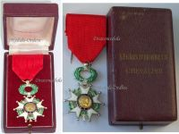 France WW2 Order Legion Honor Knight's Cross French 4th Republic 1951 1961 by Paris Mint Boxed